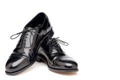 skinande skor för tillbaka affär royaltyfri foto