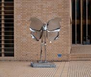 Skinande staty i Vaduz Royaltyfri Fotografi