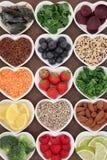 Skincare的食物 免版税库存图片