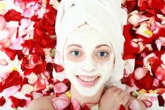 Skincare è aumentato Fotografie Stock