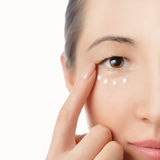 Skincare öga Royaltyfria Bilder