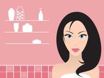 Skincare stock de ilustración