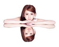 Skincare beauty woman Royalty Free Stock Photo