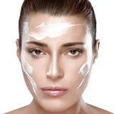Skincare begrepp Royaltyfri Foto