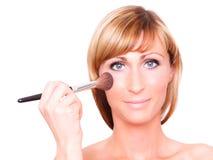 Skincare brush Royalty Free Stock Photography