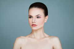 Skincare Concept. Healthy Woman Royalty Free Stock Photo