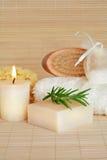 skincare för naturliga produkter Arkivfoton