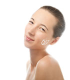 Skincare facial cream Stock Photography
