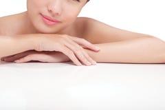 Skincare och skämma bort Royaltyfria Foton