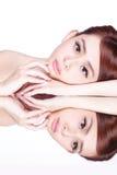 Skincare piękna kobieta Zdjęcie Stock