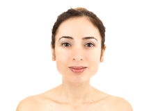Skincare woman portrait Royalty Free Stock Images