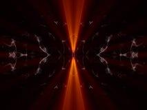 skiner den svarta orangen för bakgrund Arkivfoton
