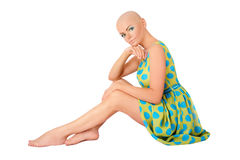 Skinhead beauty Stock Images