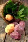 Skinned sweet potato Royalty Free Stock Photos