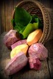 Skinned sweet potato Royalty Free Stock Image