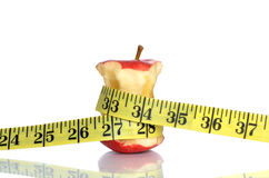Skinny Apple Stock Photo