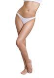 Skinny female body Royalty Free Stock Image