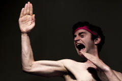 Skinny Fighter Royalty Free Stock Images