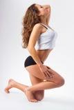 Skinny girl. Stock Image
