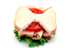 Skinny Sandwich Royalty Free Stock Image