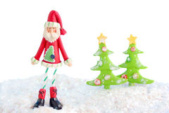 Skinny santa Royalty Free Stock Images