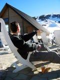 Skiort Lizenzfreie Stockfotografie