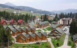 Skiort Lizenzfreies Stockfoto