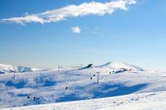 Skiort Stockfotos