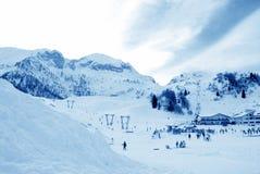 Skiort Stockbilder