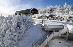 Skiort Lizenzfreie Stockfotos