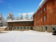 Skiort in Bulgarien Stockfotos