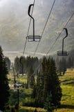 Skiort im Sommer stockbilder
