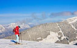 Skiort Schladming Österreich Stockfotografie