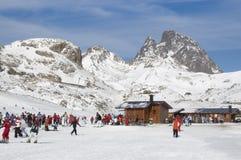 Skiort von Formigal (Huesca, Spanien) Lizenzfreies Stockfoto