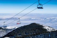 Skiort von Kaprun, Kitzsteinhorn Gletscher Stockbild