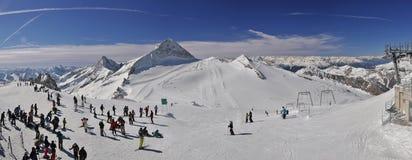 Skiort in Zillertal Lizenzfreie Stockfotografie