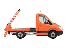 Skip loader truck Royalty Free Stock Photography