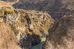 Free Skippers Bridge In Skippers Canyon Royalty Free Stock Photo - 60482205