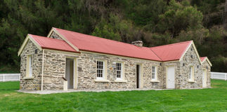 Skippers School in Skippers Canyon, Nw Zealand. The restored Skippers School in Skippers Canyon, New Zealand Stock Images