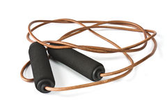 Skipping rope for cardio Royalty Free Stock Photography