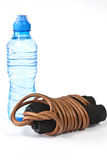 Skipping rope for cardio Stock Image