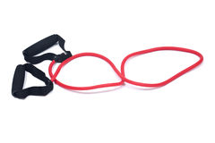 Skipping rope cross fit exercise workout training speed jump rope Royalty Free Stock Image