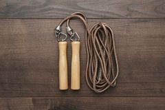 Skipping rope for an exercise Stock Photos