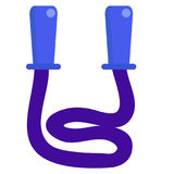 Skipping rope icon, vector illustration Royalty Free Stock Photos