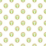 Skipping rope pattern, cartoon style Stock Images