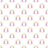 Skipping rope pattern, cartoon style Royalty Free Stock Photography