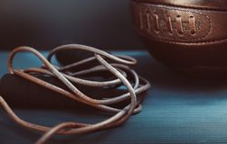 Skipping Rope and Soccer Ball royalty free stock images
