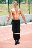 Skipping rope Royalty Free Stock Image
