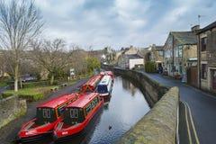 Skipton North Yorkshire, England Royaltyfri Bild