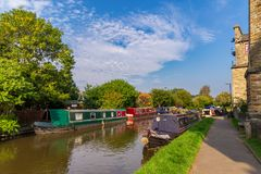 Skipton, North Yorkshire, het UK royalty-vrije stock afbeeldingen